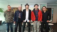 Padi Reborn Media Session SCTV Tower (Nurwahyunan/bintang.com)