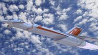 Skreemer, pesawat supersonik. Foto: Telegraph