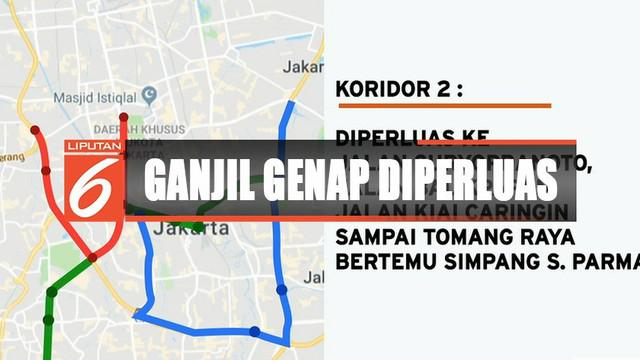 Area-area yang ditambahkan meliputi Jalan Majapahit, Gajah Mada, Hayamwuruk, sampai Kota. Juga Sisimangaraja, Panglima Polim, sampai Fatmawati simpang TB Simatupang.