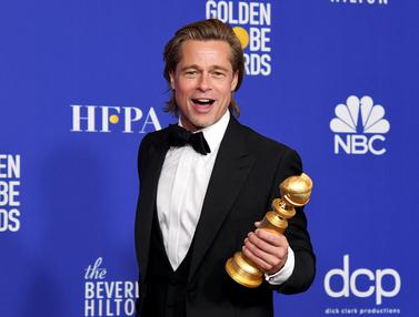 Brad Pitt Sabet Aktor Pendukung Terbaik Golden Globes 2020