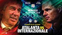 Atalanta vs Internazionale (Liputan6.com/Abdillah)