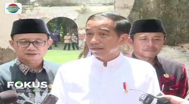 Benteng Van Den Bosch  mulai rusak, Presiden Jokowi minta Menteri PUPR pugarkan bangunan.