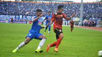 Duel antara PSIS Semarang melawan Persibat Batang di Stadion Moch Soebroto, Magelang, Selasa (5/2/2019). (Bola.com/Vincentius Atmaja)