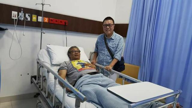 Hasil gambar untuk Butet Kertaradjasa Pendukung JKN Terbaring di RS