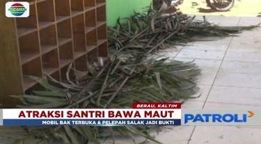 Polres Berau nyatakan ada penyebab lain  pada kasus atraksi bela diri yang mewaskan santri Madrasah Tsanawiyah Al Kholil Sambaliung.
