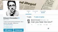 Akun Edward Snowden diverifikasi oleh Twitter dan dalam 9 jam setelah ia bergabung.