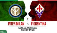 Coppa Italia: Inter Milan vs Fiorentina. (Bola.com/Dody Iryawan)