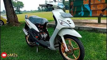 Sangar, Yamaha Mio Sporty Ini Usung Mesin 303 Cc