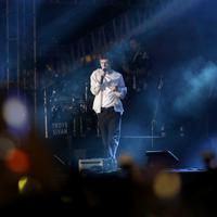 Troye Sivan di We The Fest 2019. (Bayu Herdianto/Kapanlagi.com)