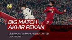 Berita video data dan fakta-fakta menarik jelang pertandingan Liverpool Vs Manchester United di Liga Inggris, Minggu (17/1/21).