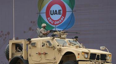 Ilustrasi militer Uni Emirat Arab