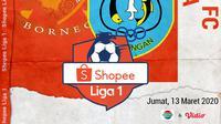 Shopee Liga 1 - Borneo FC Vs Persela Lamongan (Bola.com/Adreanus Titus)