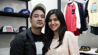 Pasangan selebriti DJ Una dan suami, DJ Rahma tengah menanti kehadiran anak pertamanya. Pasangan ini nikah sejak Juli 2017, Putri Una mengandung memasuki trimester kedua. (Nurwahyunan/Bintang.com)