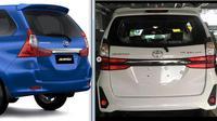 Perbandingan Toyota Avanza 2019 dengan pendahulunya (ist)