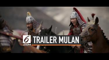 Trailer film live-action Mulan resmi dirilis oleh Disney. Masih bercerita tentang perjuangan Mulan, film ini diisi dengan adegan laga.
