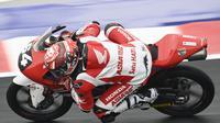 Pembalap Indonesia Mario Aji di Moto3 (dok Honda)