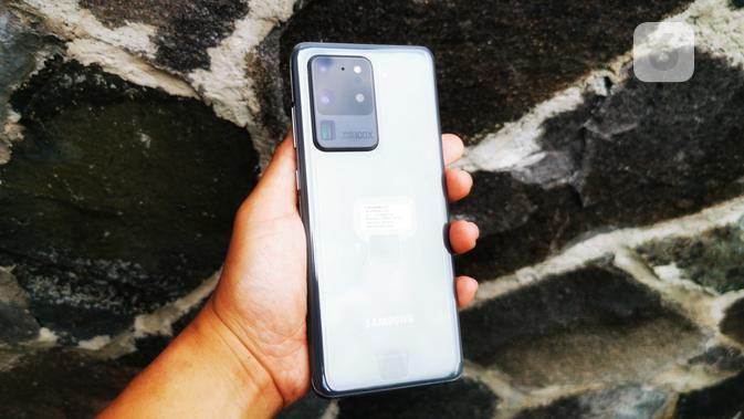 Samsung Galaxy S20 Ultra. Liputan6.com/Mochamad Wahyu Hidayat