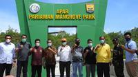KKP bakal menjadikan hutan mangrove Pariaman sebagai destinasi wisata minat khusus. (Foto: KKP)