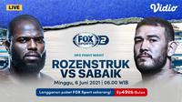 Live Streaming UFC Fight Night Vegas 28 di FOX Sports Eksklusif Melalui Vidio, Minggu 6 Juni 2021. (Sumber : dok. vidio.com)