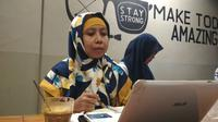 FPL WCC Mawar Balqis Cirebon menyebutkan sepanjang tahun 2018 jumlah kasus kekerasan seksual terhadap perempuan masih tinggi. Foto (Liputan6.com / Panji Prayitno)