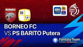 Hasil BRI Liga 1 2021/2022: Gol Torres Selamatkan Borneo FC dari Kekalahan