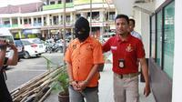 Polres Cilacap mengungkap kasus pencabulan 25 anak di bawah umur. (Foto: Liputan6.com/Polres Cilacap/Muhamad Ridlo)
