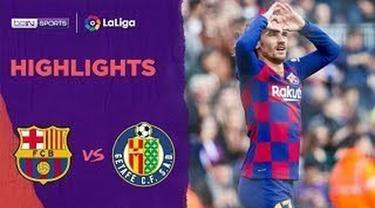 Berita Video Highlights La Liga, Barcelona Vs Getafe 2-1