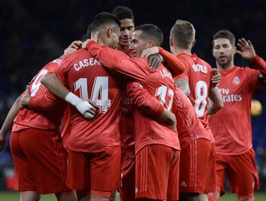 Real Madrid Tak Terbendung di Markas Espanyol