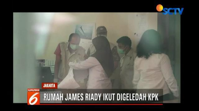 Penyidik KPK membawa sejumlah dokumen, di antaranya dokumen perizinan proyek Meikarta dari pihak Lippo ke Pemkab Bekasi serta uang dalam bentuk rupiah dan yuan.
