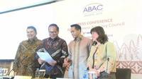 Konferensi pers ABAC Indonesia pada Selasa (9/4/2019) (Foto: Liputan6.com/Ayu P)