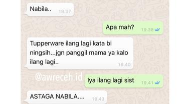 5 Chat Ortu ke Anak Ini Drama Banget, Bikin Geleng Kepala