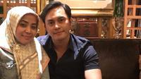 Muzdalifah dan Fadel Islami (dok. Instagram @muzdalifah999/https://www.instagram.com/p/BsHL2ssBuYV/Putu Elmira)