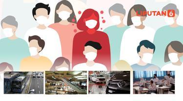 Banner Infografis Pasien Positif dan Kontak Erat Covid-19 Berkeliaran di Ruang Publik. (Liputan6.com/Abdillah)