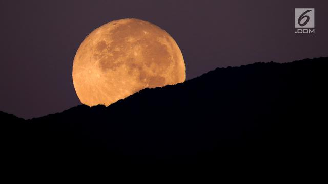 Gerhana Bulan atau Supermoon