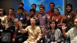 Dubes Korsel untuk Indonesia, Cho Taiyong berpose saat Ramah Tamah dengan para jurnalis, Jakarta, Kamis (10/12/2015).  Cho Taiyong berterimakasih kepada para jurnalis yang memperkenalkan kebudayaan Korea di Indonesia. (Liputan6.com/ Johan Tallo)