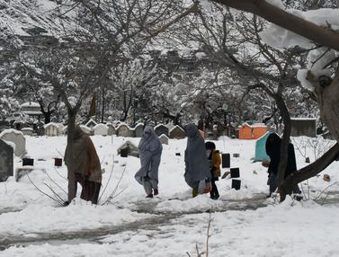 Cuaca Buruk Landa Pakistan dan Afghanistan, 54 Orang Tewas