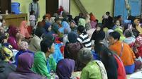 Titik pengungsian yang digunakan oleh warga lereng Merapi semalam merupakan pengungsian mandiri. Foto: (Switzy Sabandar/Liputan6.com)