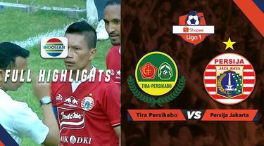 Berita video highlights Shopee Liga 1 2019 antara Tira Persikabo melawan Persija Jakarta yang berakhir dengan skor 5-3, Selasa (16/7/2019).