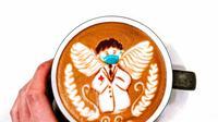 Demi menjaga stamina tenaga medis selama bulan Ramadan, Otten Coffee memberikan ribuan kopi jamu di empat rumah sakit (Foto: instagram/ottencoffee)