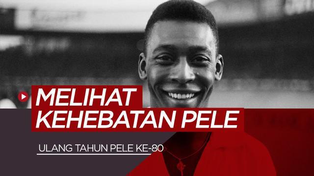 Berita video perjalanan Pele, legenda sepak bola dunia yang sukes raih tiga gelar Piala Dunia