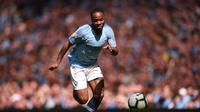 6. Raheem Sterling (Man City) - 17 gol dan 10 assist (AFP/Oli Scarff)