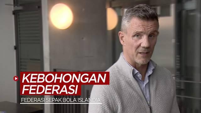 Berita video para petinggi federasi mengundurkan diri setelah diketahui adanya kebohongan terkait kasus kekerasan seksual yang dilakukan pemain Timnas Islandia.