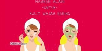 Masker Alami untuk Kulit Wajah Kering