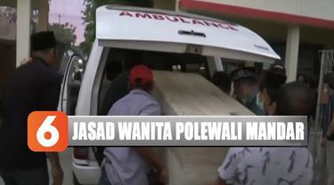 Diduga korban yang bernama Jayanti Mandasari (32 tahun) telah dihabisi oleh pelaku di tempat lain sebelum jasadnya dibuang ke saluran irigasi.