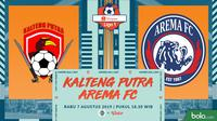 Shopee Liga 1 - Kalteng Putra Vs Arema FC (Bola.com/Adreanus Titus)