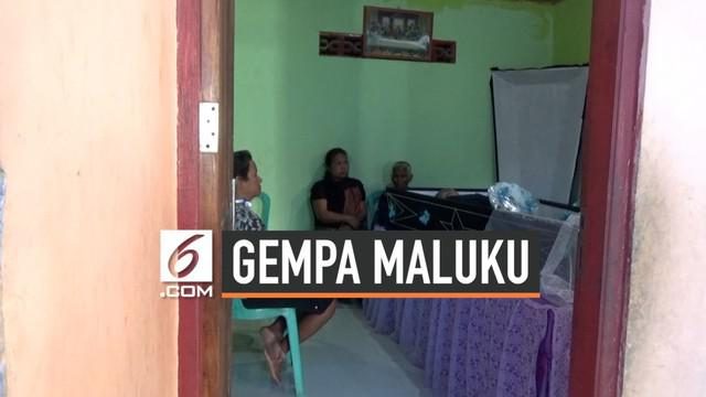 Seorang warga Ambon Maluku meninggal di pengungsian korban gempa Senin (30/9/2019) subuh. Ia diduga meninggal karena serangan jantung.