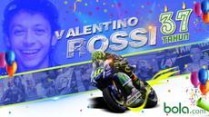 Legenda hidup MotoGP, Valentino Rossi merayakan ulang tahun ke-37 pada tanggal 16 Februari 2016. Inilah wajah Valentino Rossi dari masa ke masa. (Bola.com/Rudi Riana)
