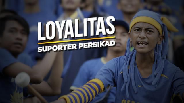 Berita video cerita tentang loyalitas, cinta, dan identitas suporter klub pinggiran Jakarta, Persikad Depok.