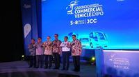 Giicomvec 2020 resmi dibuka Menteri Perindustrian Agus Gumiwang Kartasasmita. (Arief / Liputan6.com)