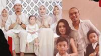 Keluarga Zulkifli Syukur dan Ferdinand Sinaga. (Bola.com/Dody Iryawan)